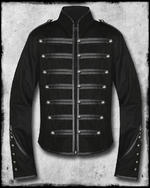 View Item BANNED BLACK PARADE MILITARY JACKET - BLACK
