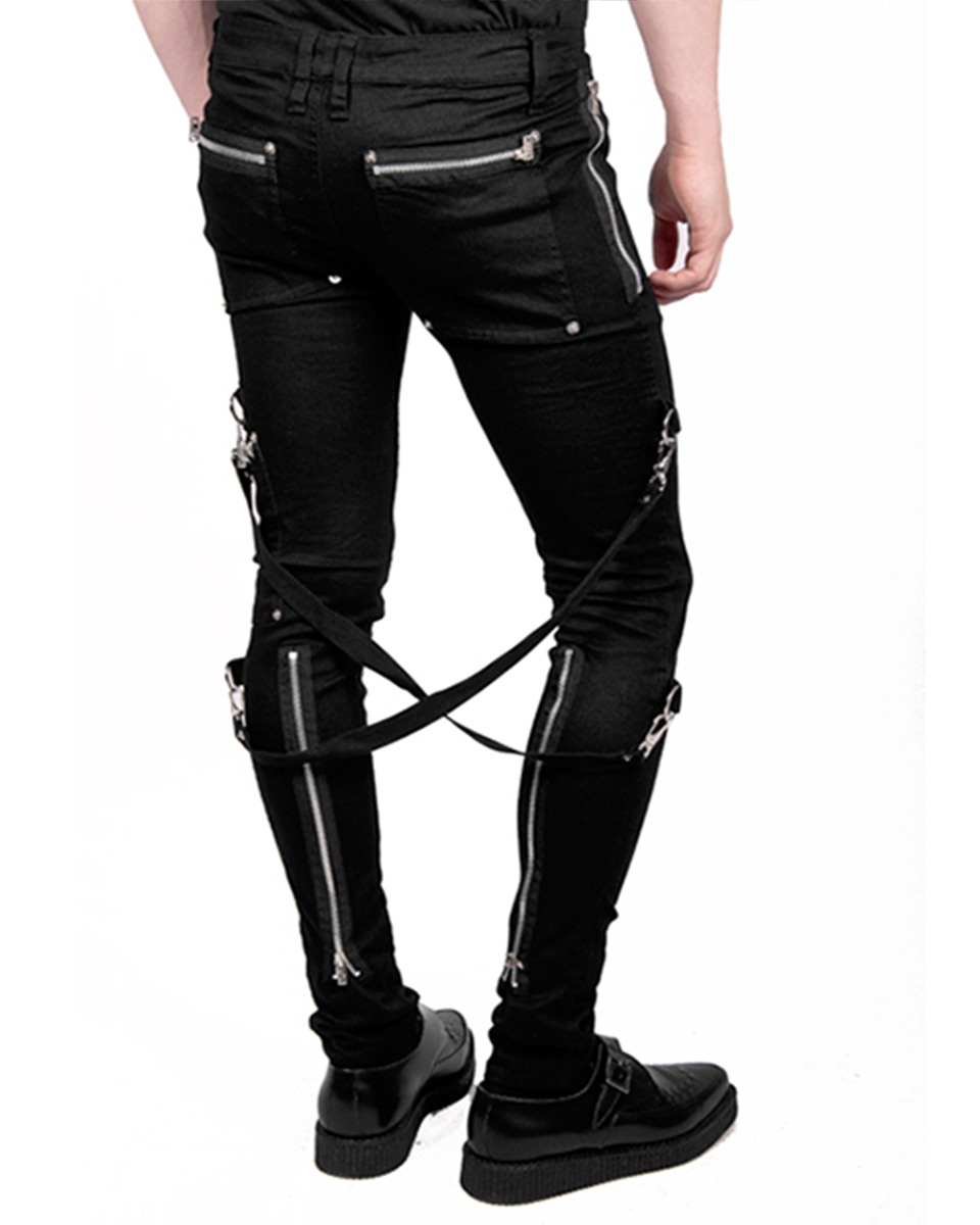 Let bondage pants punk