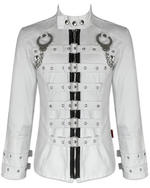 View Item TRIPP NYC HANDCUFF BONDAGE JACKET - WHITE