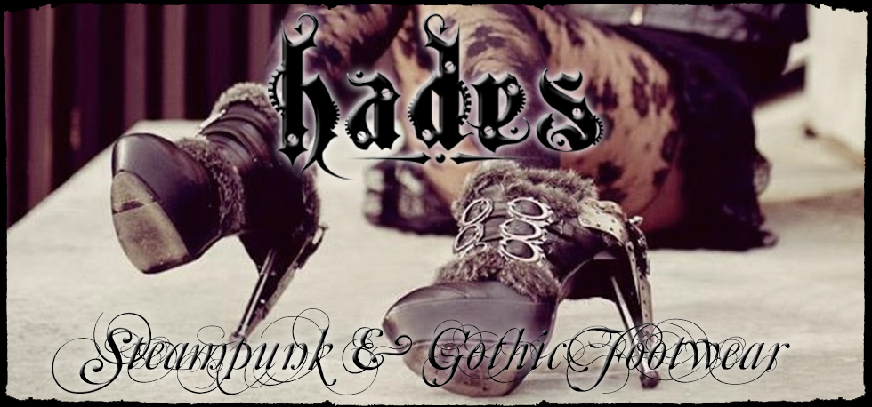 Hades Gothic & Steampunk Boots & Shoes
