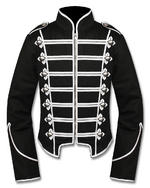 View Item CRIMINAL DAMAGE BLACKLIST GRID JACKET - BLACK & SILVER