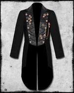 View Item SDL STEAMPUNK KEY CHAIN TAILCOAT - BLACK