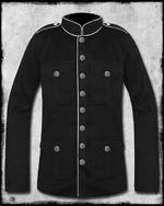 View Item SDL COMMANDER MILITARY JACKET - BLACK & WHITE