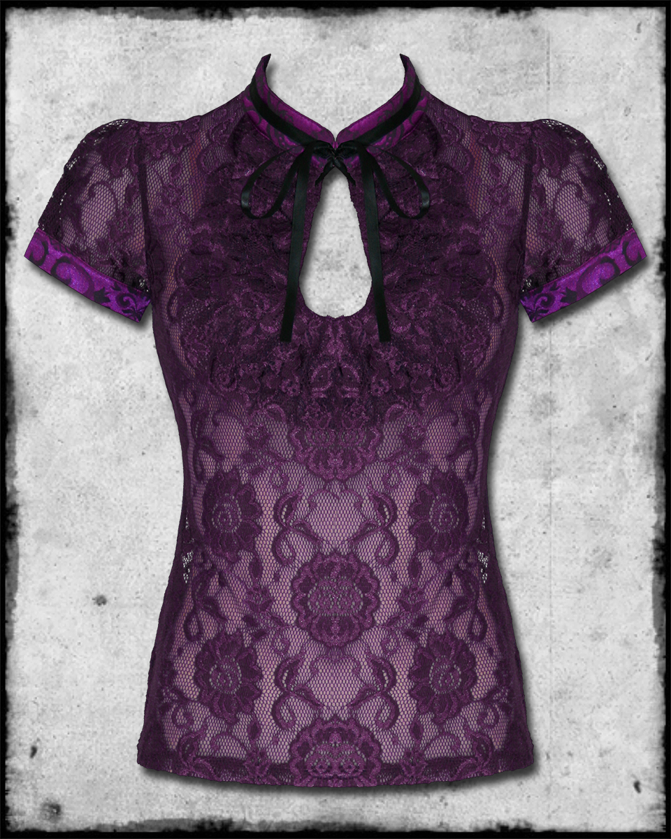 Purple Steampunk Blouse 92