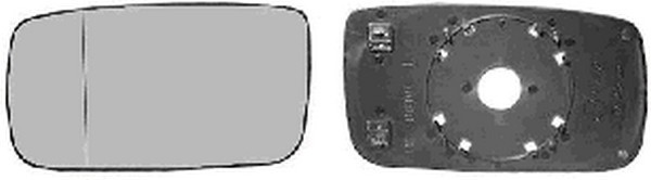 Heated Wing Mirror Glass, OS RH Right Hand VOLVO 240 74-93