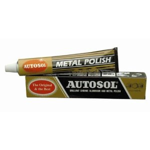 100G/75ML TUBE SOLVOL AUTOSOL CHROME & METAL CLEANER / POLISH Enlarged Preview