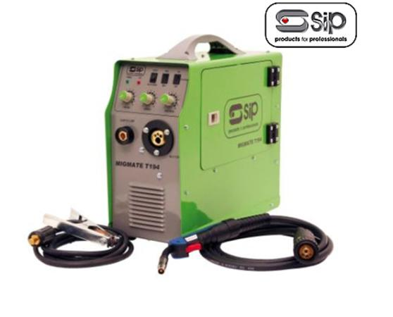 SIP 05168 MIGMATE T194 180 AMP MIG INVERTER WELDER WITH FREE HEADSHIELD Enlarged Preview