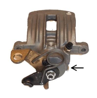 audi a4 8e5 b6 2002 2004 elstock brake caliper rear right braking system replace ebay. Black Bedroom Furniture Sets. Home Design Ideas