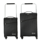 "18"" & 22"" Zframe Super Lightweight Black Set Of Suitcases"