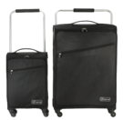 "18"" & 26"" Black ZFrame Super Lightweight Suitcases"