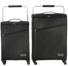 "22"" & 26"" ZFrame Super Lightweight Black Set Of Suitcases"