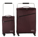 "18"" & 26"" ZFrame Super Lightweight Aubergine Set Of Suitcases"