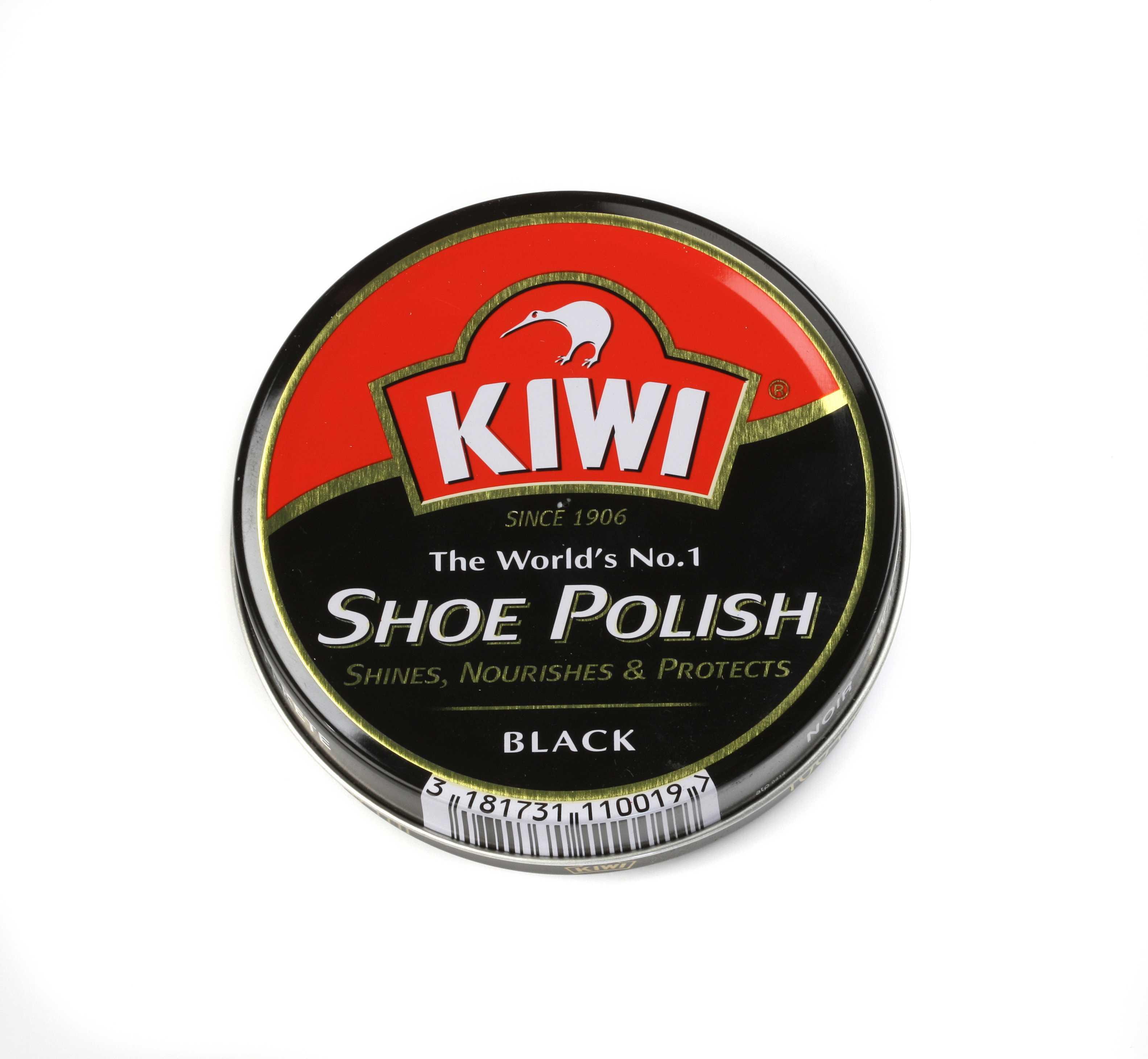 Wholesale KIWI Black Shoe Polish - Made in China - #97241