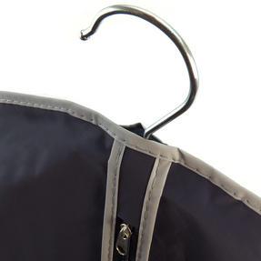 H & L Russel CAB1318 Soft Touch Suit Cover Bag, Navy Blue Thumbnail 2