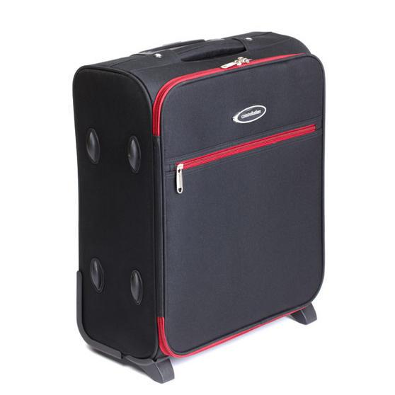"Constellation Cabin 18"" Luggage case - 50x40x20cm Black w/Red Trim"