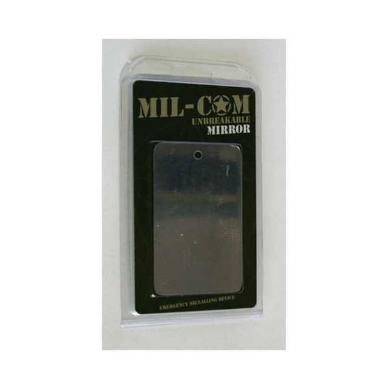Mil-Com Unbreakable Survival Mirror Mirr