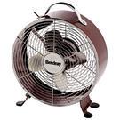 """Beldray 8"""" Red Retro Fan"""