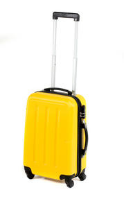 "Constellation Galloway ABS Suitcase, 20"", Yellow"