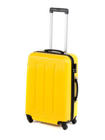 "Constellation Galloway ABS Suitcase, 24"", Yellow"
