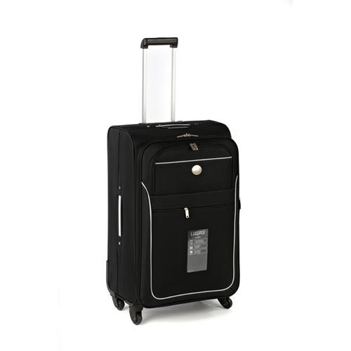 "Sovereign 26"" Eva Black & Charcoal Suitcase"