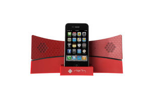 Honeycomb Bluetooth iDock Red