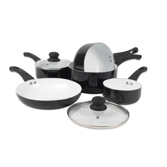 Russell Hobbs 5 Piece Ceramic Coated Pan Set