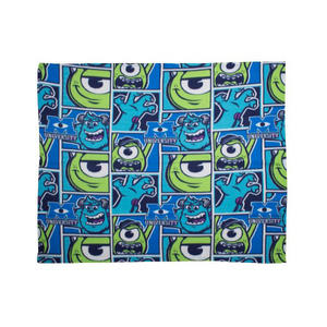 Disney Monsters Inc University Rotary Fleece Blanket 120 x 150cm Preview