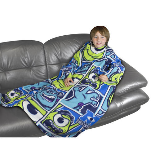Disney Monsters Inc University Sleeved Fleece Blanket 90 x 120cm