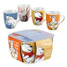 Winnie The Pooh Sketch Bullet Porcelain Mugs - Set Of 4
