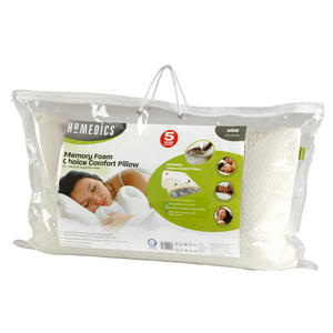 Homedics Memory Foam Choice Comfort Pillow