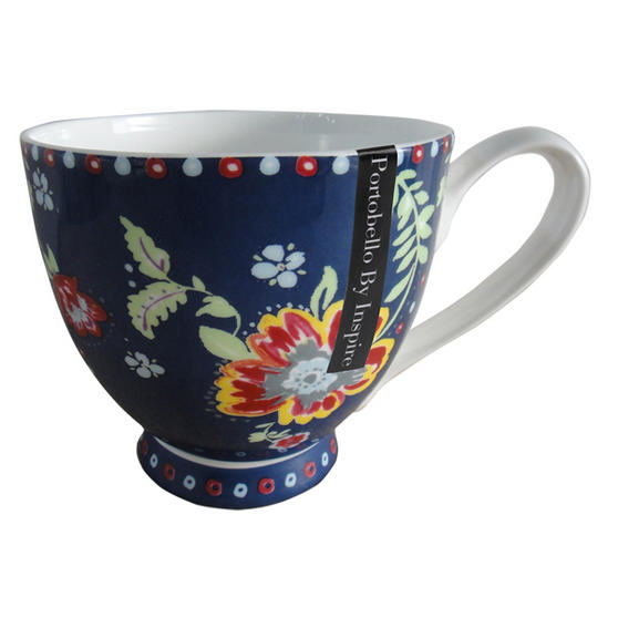 Portobello Sandringham Boho Bone China Mug