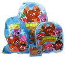 Moshi Monsters 4 Piece Travel Luggage Set - Wheeled Bag , Backpack , Swimbag & Wallet