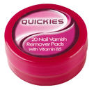Quickies For Nails Nail Polish Remover Pads Thumbnail 1