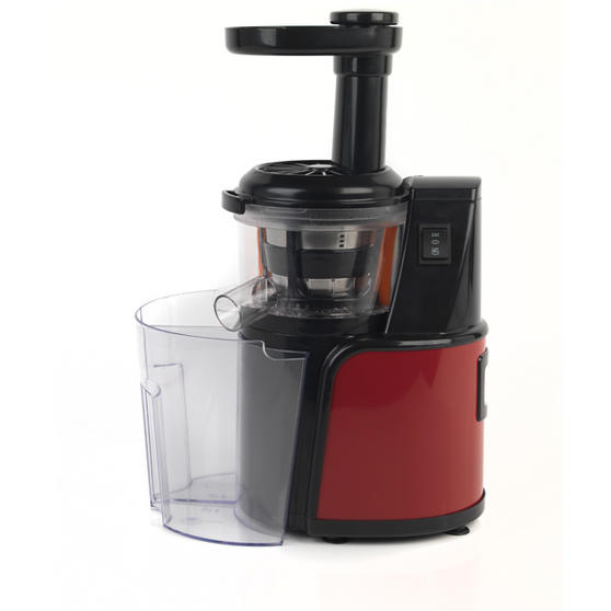 Brands Of Slow Juicer : Salter 1Litre 150Watt Red Slow Juicer Small Kitchen ...