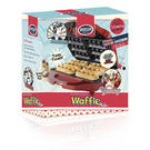 American Originals Red 700 Watt 6 Finger Waffle Maker Thumbnail 2