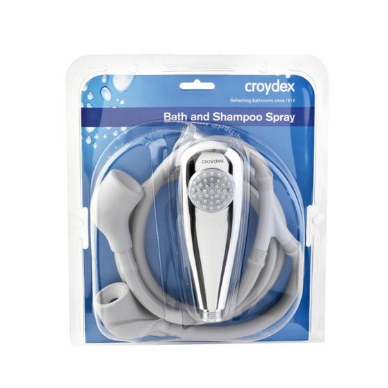 croydex bath and shoo spray adapter for bath and basin