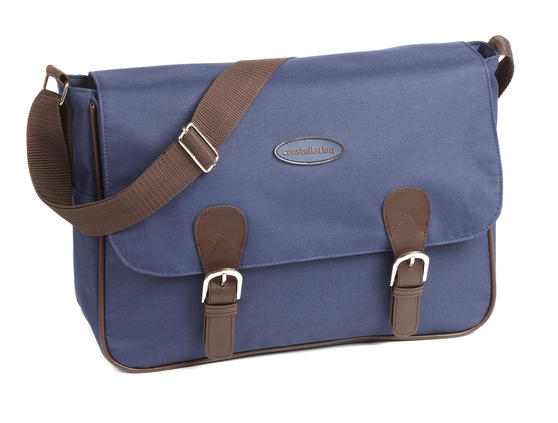 Constellation Heritage Collection Plain Satchel with Contrast Trim