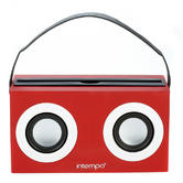 Intempo Red Ghetto Blaster 6Watt