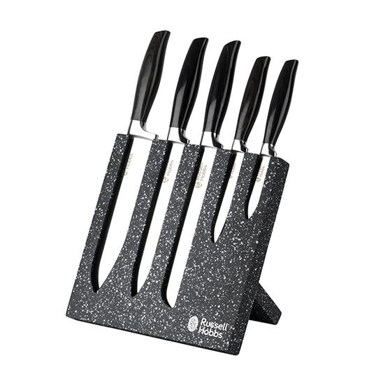 Russell Hobbs Granite Styled 5 Piece Stainless Steel Knife Set