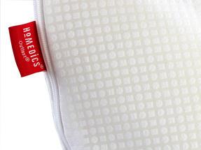 Homemedics Outlast 50D Memory Foam Pillow Set Of 2 70cm x 40cm x 14cm Thumbnail 3