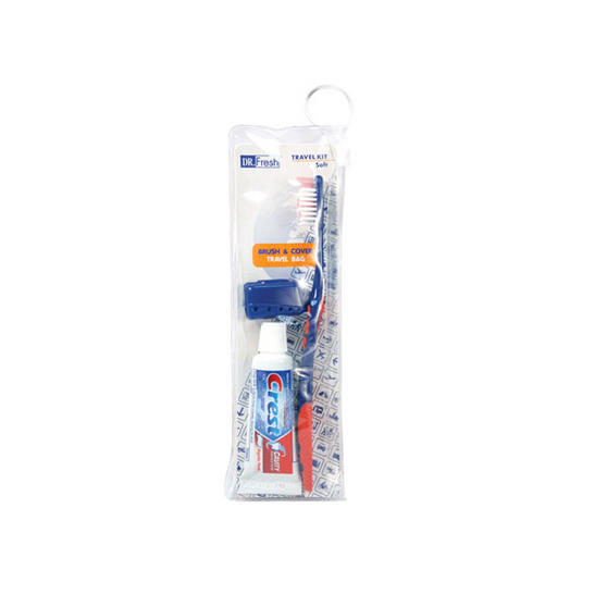 Dr Fresh Toothbrush And ToothpasteTravel Kit