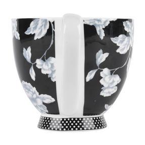 Portobello CM03398 Sandringham Regency Black Fine Bone China Mug Thumbnail 3