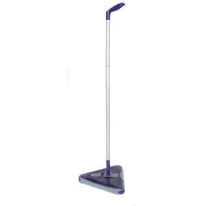 Beldray Purple Triangular Rechargeable Swivel Tri-Sweep Lite Sweeper