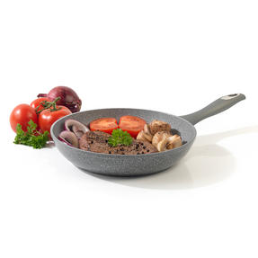 Salter Marble Collection Forged Aluminium Frying Pan, 28 cm, Grey