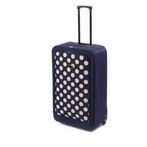 "Constellation 28"" Blue Spot Print Panel Suitcase"