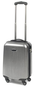 "Constellation 18"" Hercules Silver ABS Suitcase"