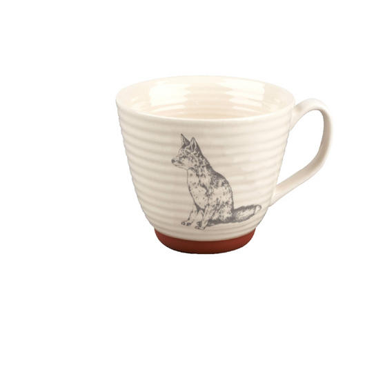 Portobello Stafford Wildlife Fox Stoneware Mug