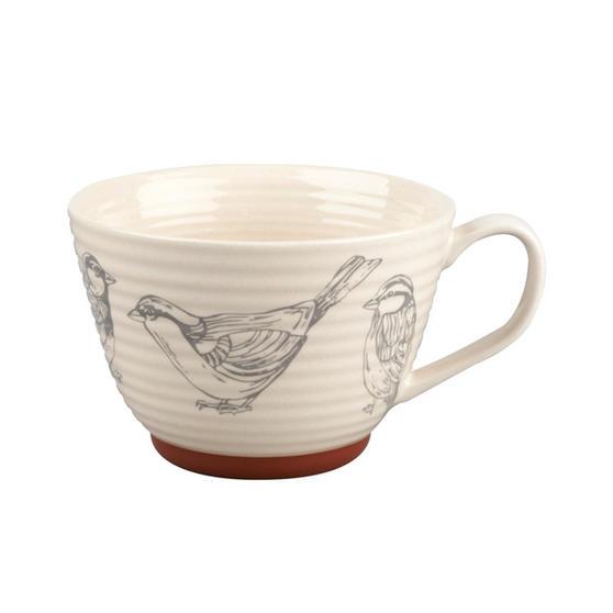 Portobello CM04205 Stafford Wildlife Sparrow Stoneware Mug