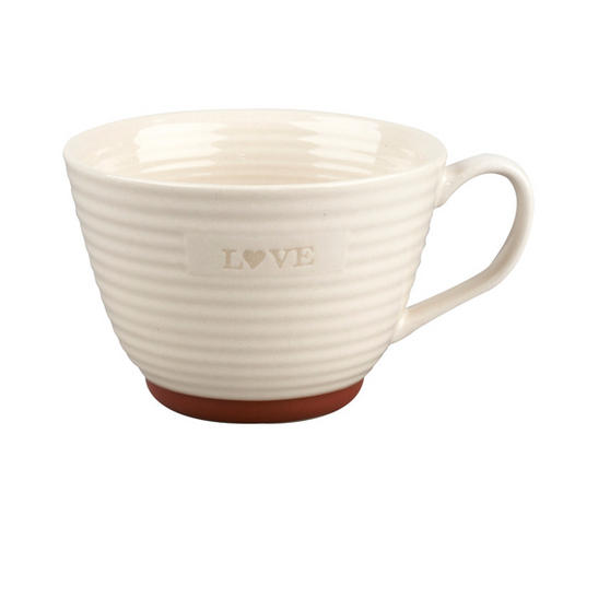 Portobello Stafford Love Stoneware Mug