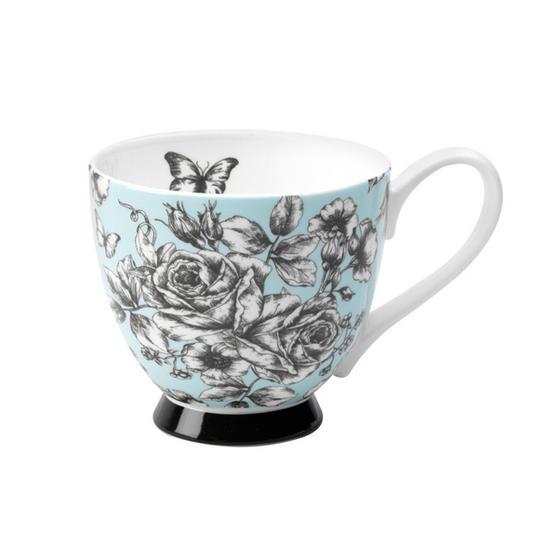Portobello CM03396 Sandringham English Country Garden Bone China Mug